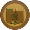Golf Collectibles:Medals/Jewelry, 1994 Masters Tournament Player Badge From The Sam SneadCollection....