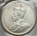 """Canada: George V """"JOP"""" Counterstamped Dollar 1936 MS62 ICCS"""