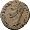 Ancients:Roman Imperial, Ancients: Augustus (27 BC-AD 14). Æ as (27mm, 10.47 gm, 6h)....