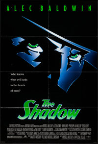 "The Shadow & Others Lot (Universal, 1994). One Sheets (3) (27"" X 40"", 27"" X 41"") SS & DS Adv..."
