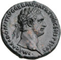 Ancients:Roman Imperial, Ancients: Domitian (AD 81-96). Æ as (28mm, 10.61 gm, 5h)....