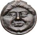 Ancients:Greek, Ancients: BLACK SEA REGION. Olbia. Ca. 400-380 BC. Æ cast 35mm(18.79 gm, 12h). ...
