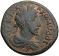 Ancients:Roman Provincial , Ancients: DECAPOLIS. Capitolias. Commodus (AD 177-192). Æ 31mm(17.77 gm)....