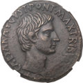 Ancients:Roman Imperial, Ancients: Augustus (27 BC-AD 14). Æ as (26mm, 12.73 gm, 6h)....