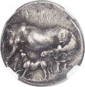 Ancients:Greek, Ancients: EUBOEA. Carystus. Ca. 300-250 BC. AR stater (22mm, 7.88gm, 11h)....