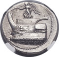 Ancients:Greek, Ancients: MACEDONIAN KINGDOM. Demetrius I Poliorcetes (306-283 BC). AR tetradrachm (28mm, 17.16 gm, 6h). ...