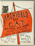 "Books:Literature Pre-1900, ""The Old Sailor"" [pseudonym for Roland Folger Coffin]. Archibaldthe Cat and Other Sea Yarns. New York: The Worl..."