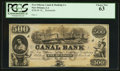 Obsoletes By State:Louisiana, New Orleans, LA- New Orleans Canal & Banking Co. $500 18__. ...