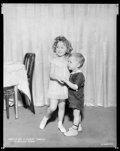 """Movie Posters:Miscellaneous, Baby LeRoy & Shirley Temple (Paramount, 1934). Eastman Kodak Nitrate Negative (7.75"""" X 9.75""""). Miscellaneous.. ..."""