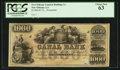 Obsoletes By State:Louisiana, New Orleans, LA- New Orleans Canal & Banking Co. $1000 18__. ...