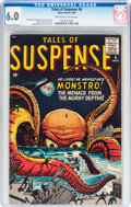 Silver Age (1956-1969):Mystery, Tales of Suspense #8 (Atlas, 1960) CGC FN 6.0 Off-white to whitepages....