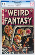 Golden Age (1938-1955):Science Fiction, Weird Fantasy #16 (EC, 1952) CGC VF- 7.5 Cream to off-whitepages....