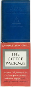 Books:Books about Books, [Books about Books]. Lawrence Clark Powell. SIGNED. The Little Package. Cleveland: World Publishing, [1964]. First e... (Total: 2 Items)