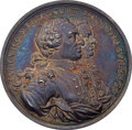 Betts Medals, (1762) Capture of the Morro Castle Medal, Silver AU58 PCGS Secure.Betts-443 Variant....