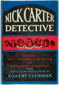 Books:Mystery & Detective Fiction, Robert Clurman. Nick Carter, Detective. New York: Macmillan,1963. First edition. Publisher's cloth and original dus...