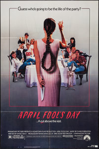 """April Fool's Day & Others Lot (Paramount, 1986). One Sheets (3) (27"""" X 41""""). Horror. ... (Total: 3 Ite..."""
