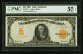 Large Size:Gold Certificates, Fr. 1172 $10 1907 Gold Certificate PMG About Uncirculated 55 EPQ.....