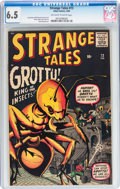 Silver Age (1956-1969):Horror, Strange Tales #73 (Marvel, 1960) CGC FN+ 6.5 Off-white to whitepages....