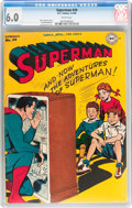 Golden Age (1938-1955):Superhero, Superman #39 (DC, 1946) CGC FN 6.0 White pages....