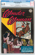 Golden Age (1938-1955):Superhero, Wonder Woman #23 (DC, 1947) CGC FN 6.0 Off-white to white pages....