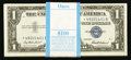 Small Size:Silver Certificates, Fr. 1619* $1 1957 Silver Certificates. Original Pack of 100. Gem Crisp Uncirculated.. ... (Total: 100 notes)