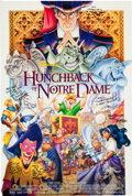 Memorabilia:Disney, The Hunchback of Notre Dame Theatrical Poster Signed by Animation Crew (Disney, 1996)....