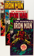 Silver Age (1956-1969):Superhero, Iron Man #1-6 Group (Marvel, 1968) Condition: Average VF- except as noted.... (Total: 6 Comic Books)