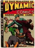 Golden Age (1938-1955):Crime, Dynamic Comics #23 (Chesler, 1947) Condition: Qualified FN-....