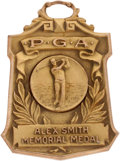 Golf Collectibles:Medals/Jewelry, 1941 Alex Smith Memorial Medal From The Sam Snead Collection....