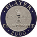 Golf Collectibles:Medals/Jewelry, 2000 British Open Championship Player Badge From The Sam SneadCollection....
