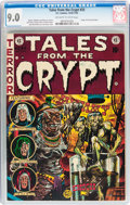 Golden Age (1938-1955):Horror, Tales From the Crypt #33 (EC, 1952) CGC VF/NM 9.0 Off-white towhite pages....