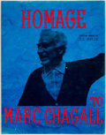 Books:Art & Architecture, [Marc Chagall]. An Homage to Marc Chagall. New York: Tudor Publishing, [n.d.]. Featuring an original lithograph. ...