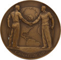 Golf Collectibles:Miscellaneous, 1957 Canada Cup Team Member Medallion from The Sam Snead Collection....