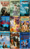 Books:Pulps, [Fantasy Paperbacks]. Group of Fifty-Three TOR Fantasy Paperbacks.New York: Tom Doherty, [1980s]. Includes works by Card, C...(Total: 53 Items)