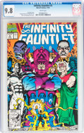 Modern Age (1980-Present):Superhero, The Infinity Gauntlet #5 (Marvel, 1991) CGC NM/MT 9.8 White pages....