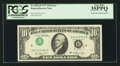 Error Notes:Inverted Third Printings, Fr. 2023-D $10 1977 Federal Reserve Note. PCGS Very Fine 35PPQ.....