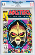 Modern Age (1980-Present):Science Fiction, Masters of the Universe #4 (Marvel, 1986) CGC NM/MT 9.8 White pages....