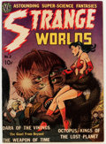 Golden Age (1938-1955):Science Fiction, Strange Worlds #2 (Avon, 1951) Condition: Apparent FN....