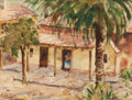 Texas:Early Texas Art - Modernists, HENRY MARTIN GASSER (American, 1909-1981). San Antonio.Watercolor on paper. 7-1/2 x 9-3/4 inches (19.1 x 24.8 cm) (sigh...