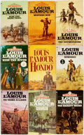 Books:Pulps, [Western Paperbacks]. Louis L'Amour. Group of Thirty-Two WesternPaperbacks. New York: Bantam, [1980s]. Publisher's bindings...(Total: 32 Items)