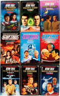 Books:Pulps, [Star Trek Paperbacks]. Group of Forty-Four Star Trek Paperbacks.New York: Pocket Books, [1980-90s]. Includes works from th...(Total: 44 Items)