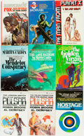 Books:Pulps, [Genre Paperbacks]. Group of Forty-Three Pinnacle Genre Paperbacks.New York: Pinnacle, [1970-80s]. Includes works by Murphy... (Total:43 Items)