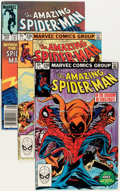 Modern Age (1980-Present):Superhero, The Amazing Spider-Man Group (Marvel, 1982-88) Condition: AverageVF/NM.... (Total: 76 Comic Books)