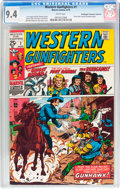 Bronze Age (1970-1979):Western, Western Gunfighters #1 Don/Maggie Thompson Collection pedigree (Marvel, 1970) CGC NM 9.4 White pages....