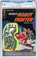 Silver Age (1956-1969):Science Fiction, Magnus Robot Fighter #9 Don/Maggie Thompson Collection pedigree(Gold Key, 1965) CGC NM 9.4 Off-white to white pages....