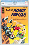 Silver Age (1956-1969):Science Fiction, Magnus Robot Fighter #5 Don/Maggie Thompson Collection pedigree(Gold Key, 1964) CGC NM 9.4 Off-white to white pages....