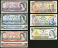 Canadian Currency: , Forty Dollars Face Canadian.. ... (Total: 8 notes)