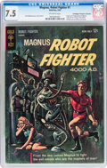 Silver Age (1956-1969):Science Fiction, Magnus Robot Fighter #1 Don/Maggie Thompson Collection pedigree(Gold Key, 1963) CGC VF- 7.5 Off-white pages....
