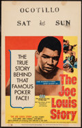 "Movie Posters:Sports, The Joe Louis Story (United Artists, 1953). Window Card (14"" X 22""). Sports.. ..."