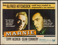 "Movie Posters:Hitchcock, Marnie (Universal, 1964). Half Sheet (22"" X 28""). Hitchcock.. ..."